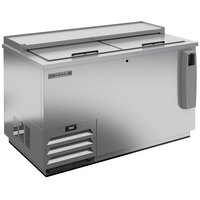 Beverage-Air DW49HC-S-29 50 inch Frosty Brew Stainless Steel Deep Well Bottle Cooler