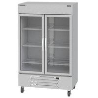 Beverage-Air HBF49HC-1-G Horizon Series 52 inch Bottom Mounted Glass Door Reach-In Freezer