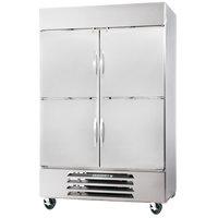 Beverage-Air HBR44HC-1-HS Horizon Series 47 inch Bottom Mount Half Door Reach-In Refrigerator