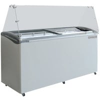 Beverage-Air BDC-HC-12 Hydrocarbon Series 68 inch Ice Cream Dipping Cabinet
