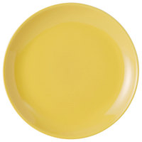 Tuxton BSA-0904 TuxCare Healthcare 9 inch Saffron China Plate - 12/Case
