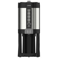 Fetco LGD-15 Luxus 1.5 Gallon Stainless Steel Coffee Dispenser with Stand