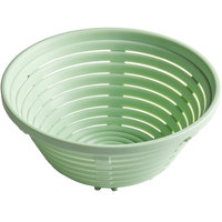 Matfer Bourgeat 118547 7 7/8 inch Round Polypropylene Aeration Bread Proofing Basket