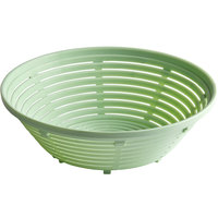 Matfer Bourgeat 118550 10 11/16 inch Round Polypropylene Aeration Bread Proofing Basket