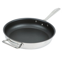 Vollrath 47758 Intrigue 12 1/2 inch CeramiGuard II Non-Stick Fry Pan with Helper Handle