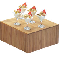 Cal-Mil 432-6-60 12 inch x 6 inch Bamboo Square Riser