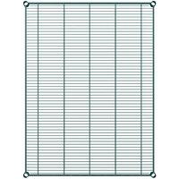 Regency 36 inch x 48 inch NSF Green Epoxy Wire Shelf