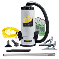ProTeam 107609 QuietPro BP 6 Qt. Backpack Vacuum with 107532 Tool Kit - 120V