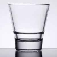 Libbey 15710 Endeavor 9 oz. Stackable Rocks / Old Fashioned Glass - 12/Case