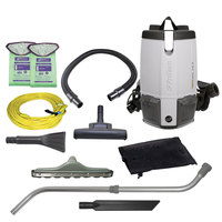 ProTeam 107426 ProVac FS6 6 Qt. Backpack Vacuum with 107420 Tool Kit - 120V