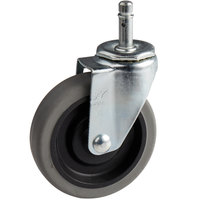 Carlisle SBCC24000 Fold 'N Go Cart 4 inch Replacement Swivel Stem Caster
