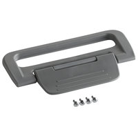 Carlisle IT2550LA23 Gray Cateraide™ Replacement Part Latch Assembly with Screws for IC2500 Beverage Dispensers