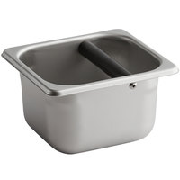 Vollrath E06064-KB 1/6 Size Stainless Steel Knock Box - 4 inch Deep