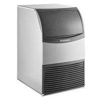 Scotsman CU0920MA-1 20 inch Air Cooled Undercounter Medium Cube Ice Machine with ADA Compliant Floor Mount Kit - 100 lb.