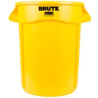 Rubbermaid FG263200YEL BRUTE 32 Gallon Yellow Trash Can