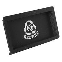 Vollrath MR-1.5 Black Medium Flush-Mount Recycle Trash Receptacle Door