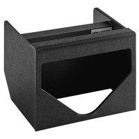 Vollrath MW-1 ModuServ Black Flush-Mount Tissue Dispenser