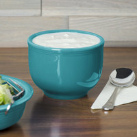 Homer Laughlin 098107 Fiesta Turquoise 18 oz. Jumbo Bowl - 12/Case