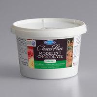 Satin Ice ChocoPan 1 lb. Green Modeling Chocolate