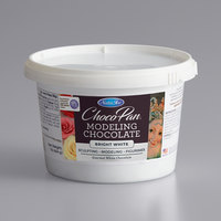 Satin Ice ChocoPan 1 lb. Bright White Modeling Chocolate