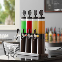 Beer Tubes FLT-STAP 1/4 (4) 32 oz. Flight Beer Tower