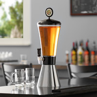 Beer Tubes COM-ST-STAP 1/4 128 oz. Super Tube Metal Conic Beer Tower