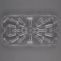 Cambro 40CWD135 Clear Quarter Size Clear Polycarbonate Drain Tray