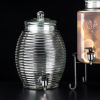 Libbey 92165 2.9 Gallon Glass Beehive Beverage Dispenser - 2/Case