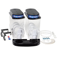 Bunn 34000.0413 Black Liquid Autofill Hopper Set for Ultra-2 Frozen Beverage Systems