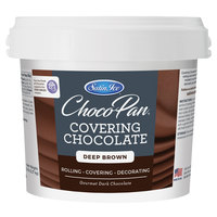 Satin Ice ChocoPan 5 lb. Deep Brown Covering Chocolate