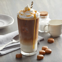 UPOURIA™ 2 lb. Caramel Macchiato Cappuccino Mix - 6/Case