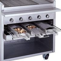 Bakers Pride 21884847 Stainless Steel Smoke Box