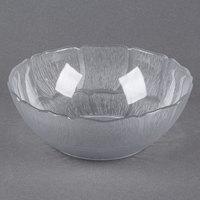 Carlisle 690807 Petal Mist 1.3 Qt. Clear Polycarbonate Bowl