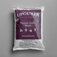 UPOURIA™ 2 lb. Salted Chocolate Caramel Cappuccino Mix - 6/Case