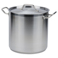 Vollrath 3513 Optio 53 qt. Stock Pot with Cover