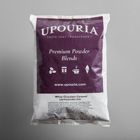 UPOURIA™ 2 lb. White Chocolate Caramel Cappuccino Mix - 6/Case