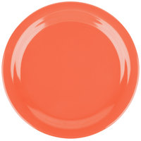 Carlisle 4350152 Dallas Ware 9 inch Sunset Orange Melamine Plate - 48/Case