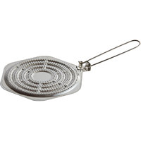 Matfer Bourgeat 639001 8 1/4 inch Tinned Steel Flame Tamer / Simmer Ring