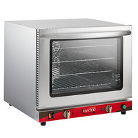 Avantco CO-32 Half Size Countertop Convection Oven with Steam Injection, 2.3 Cu. Ft. - 208/240V, 2800W