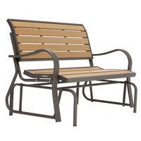 Lifetime 60055 48 inch Glider Bench