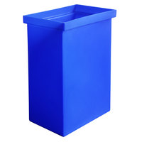 Winholt 148BIN-BL 10 Gallon / 160 Cup Blue Ingredient Bin
