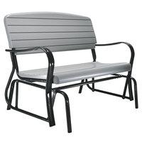 Lifetime 2871 48 inch Gray Glider Bench