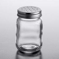 Acopa 5 oz. Mini Mason Jar Salt and Pepper Shaker - 12/Case