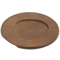 Bon Chef 85011 8 5/8 inch Round Wood Underliner