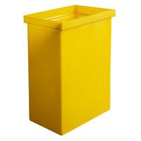 Winholt 148BIN-YW 10 / 160 Cup Gallon Yellow Ingredient Bin