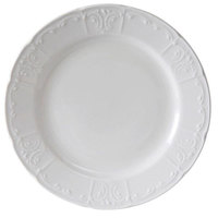Tuxton CHA-060 Chicago Plate in Porcelain White - 6 inch 36 / Case