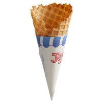Joy Regular Size Jacketed Ice Cream Waffle Cone   - 216/Case