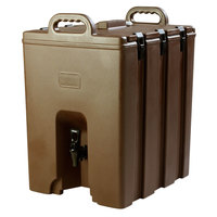 Carlisle LD1000N01 Cateraide Brown 10 Gallon Insulated Beverage Dispenser
