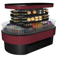 Structural Concepts FSI856R 99 3/4 inch Refrigerated Self-Service Island Merchandiser - 208V
