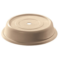 Cambro 806CW133 Camwear Camcover 8 7/16 inch Beige Plate Cover - 12/Case